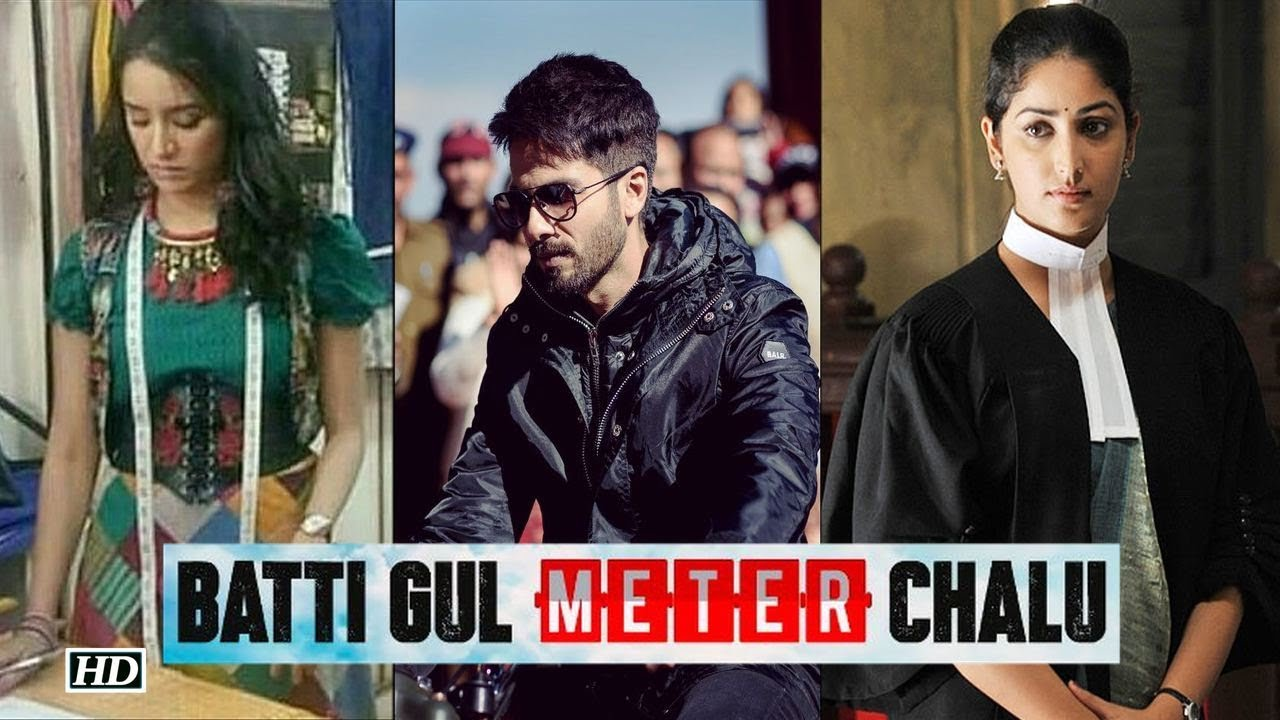 Image result for images of shahid kapoor new movie batti gul meter chaalu and tapsee panu new movie manmarjiyan