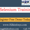 Selenium Online Training Course with real time industry experts