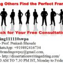 eBranding India Provides the Best Franchise Consultation Services In Jodhpur