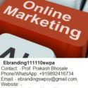 eBranding India is an experts in internet online marketing business in Nashik