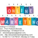 Professional Internet Online Marketing company in Delhi
