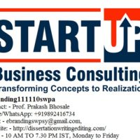 The Professional Start-up Consultation Services in Coimbatore