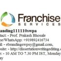 The Professional Franchise Consultation Services in Kota