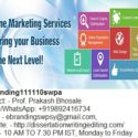 The Top Quality Internet Online Marketing Service Provider in Nashik