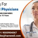 General Physicians are required for top hospitals