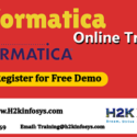 Informatica Training provided by H2K Infosys LLC, USA