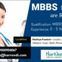 Wanted MBBS Doctors in Madhya Pradesh