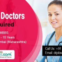 MBBS Doctors are required in Mumbai