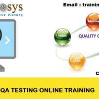 QA Online Training Classes and Placement Assistance