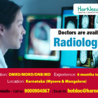 Radiologist Doctors are available for your Hospitals in Karnataka