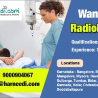 We are looking for Radiologists in Karnataka