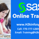 SAS Training provided by H2K Infosys LLC, USA