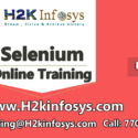 Selenium Training for entry level professionals provided by H2K Infosys LLC, USA